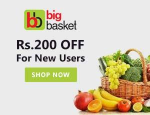 BigBasket Coupon Code & Offers   70% Off + 5% Cashback   Aug 2019